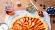 Aromatyczny placek z brzoskwiniami
