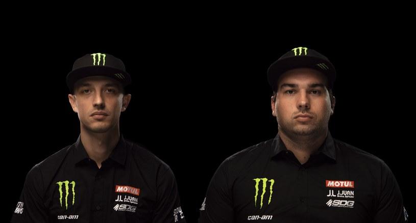 Aron Domżała i Maciej Marton dołączyli do fabrycznego zespołu Monster Energy Can-Am, którego kierowcy wygrali trzy ostatnie Dakary /