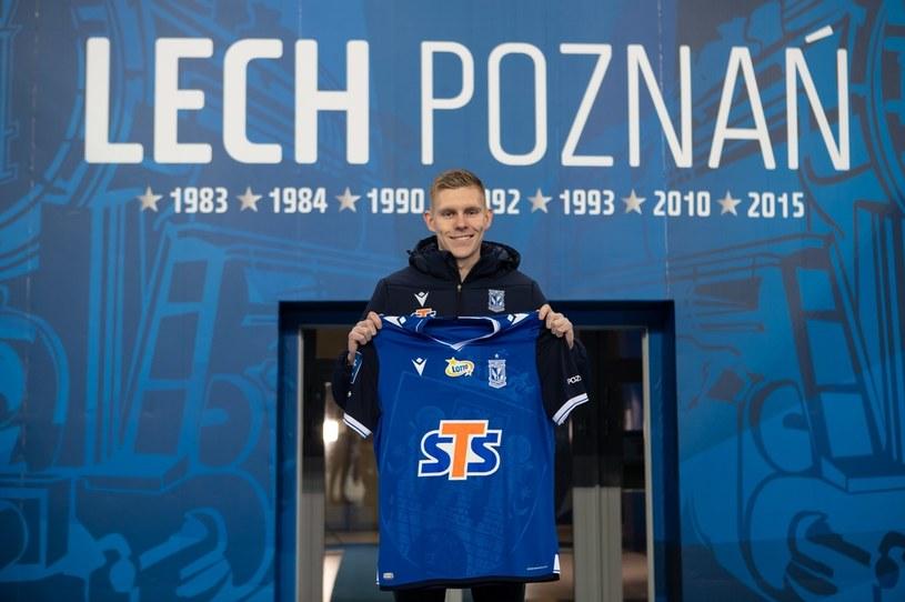 Aron Johannsson zawodnikiem Lecha Poznań /PRZEMYSLAW SZYSZKA/CYFRASPORT / NEWSPIX.PL /Newspix