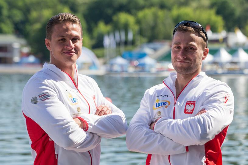 Arsen Śliwiński i Michał Łubniewski /Foto Olimpik/Tomasz Jastrzebowski /Reporter