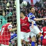 Arsenal bez trofeum, Szczęsny nie bez winy