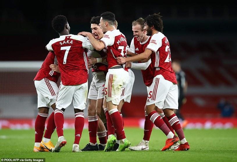 Arsenal cieszy się ze zdobytej bramki /Getty Images /Getty Images