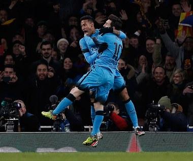 Arsenal Londyn - FC Barcelona 0-2 w 1/8 finału Ligi Mistrzów
