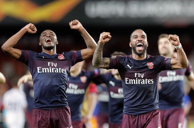 Arsenal Londyn finalistą Ligi Europy /Kai Foersterling /PAP/EPA