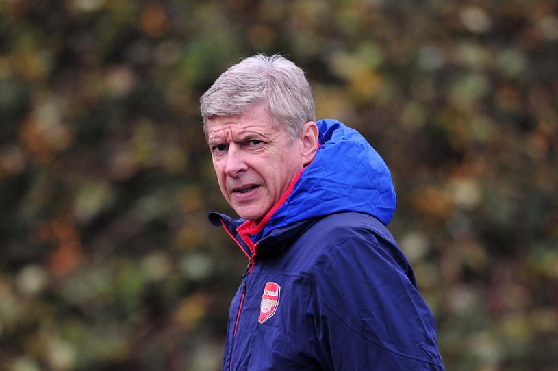 Arsene Wenger, menedżer Arsenalu Londyn /AFP