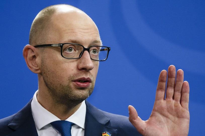 Arsenij Jaceniuk: Globalny terroryzm to zasługa Rosji /AFP