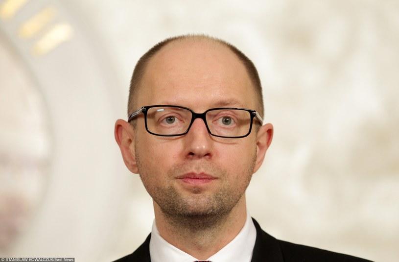 Arsenij Jaceniuk /STANISLAW KOWALCZUK /East News