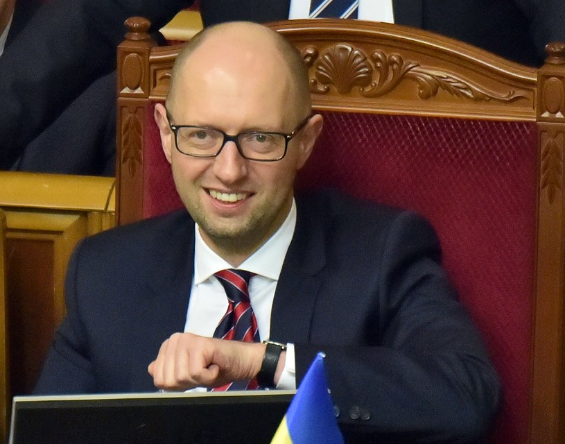 Arsenij Jaceniuk /SERGEI SUPINSKY /AFP