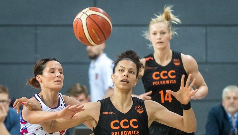 Artego Bydgoszcz - CCC Polkowice 66:76 w pierwszym meczu finałowym