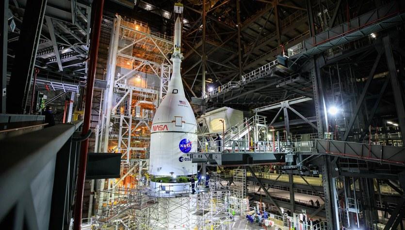 Artemis I poleci na Księżyc w lutym 2022 roku