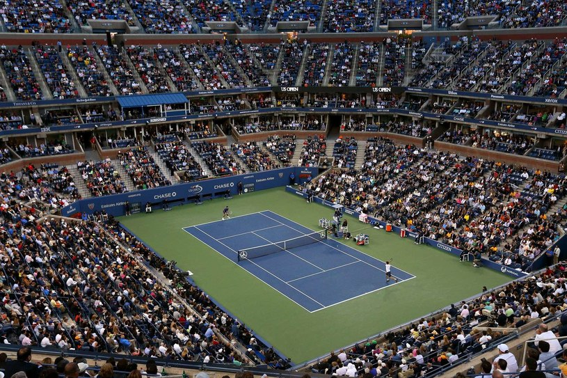 Arthur Ashe Stadium, czyli główna arena US Open /AFP