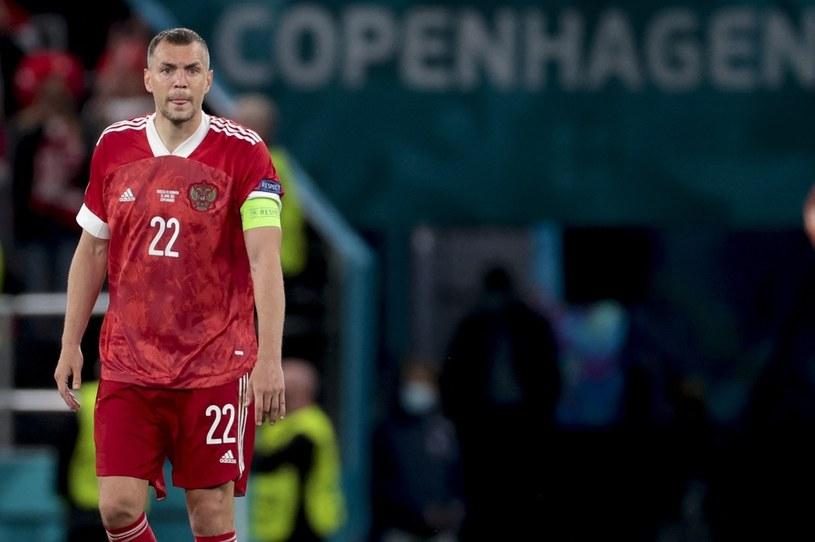 Artiom Dziuba w reprezentacji Rosji na Euro 2020 /ZUMA /Newspix