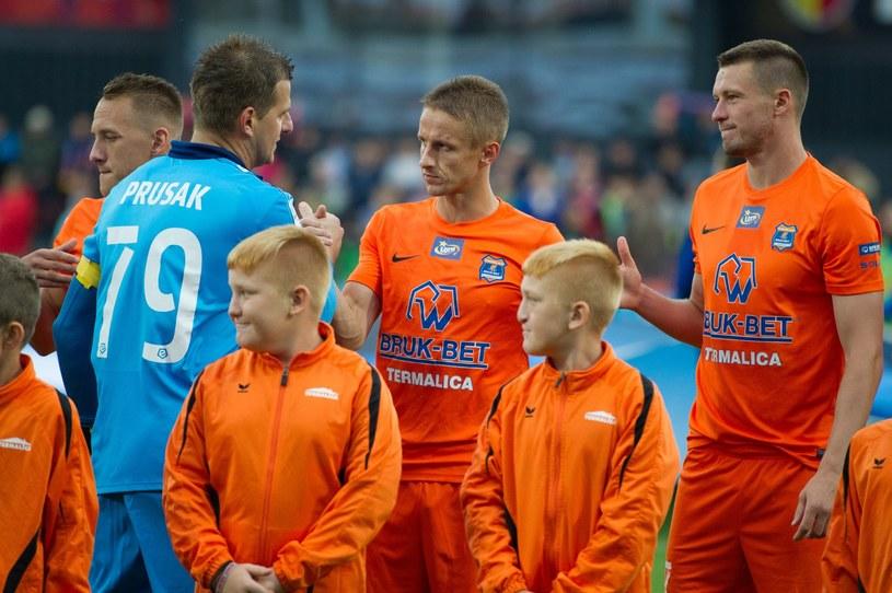 Artiom Putiwcew (pierwszy z prawej) /fot. Tadeusz Koniarz /East News