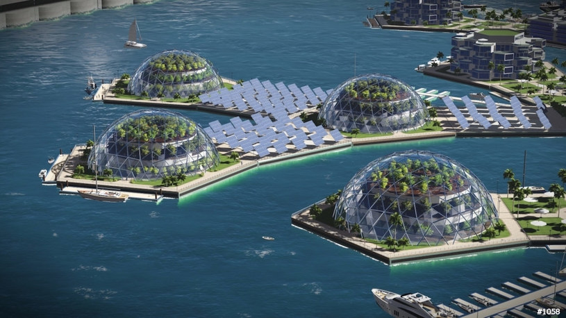 Artisanopolis. Wizja miasta /The Seasteading Institute and Gabriel Scheare, Luke & Lourdes Crowley, and Patrick White  /materiały prasowe