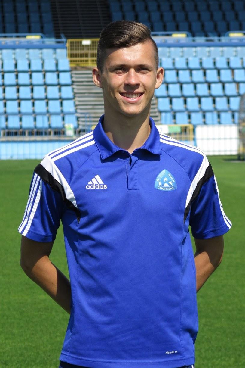 Artur Balicki dla Ruchu w II lidze strzelił siedem bramek. Czy będzie strzelał również na boiskach Ekstraklasy? /East News