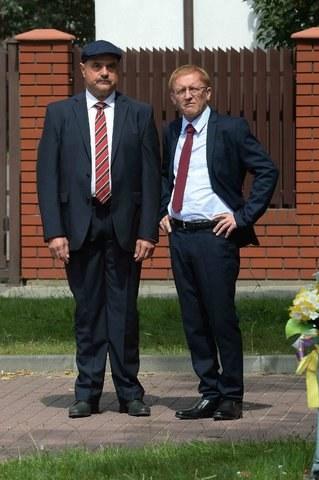 Artur Barciś jako Czerepach i Cezary Żak jako Senator /TVP/ Sobieszczuk /ATM