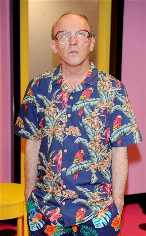 Artur Barciś jako Stanley Gardner. /Agencja W. Impact