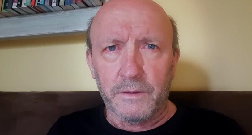Artur Barciś w swoim nagraniu na platformie YouTube /YouTube /materiał zewnętrzny