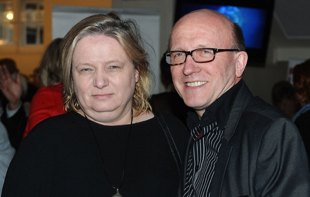 Artur Barciś z żoną /Piotr Andrzejczak /MWMedia