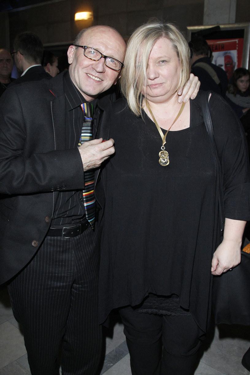 Artur Barciś z żoną / Engelbrecht /AKPA