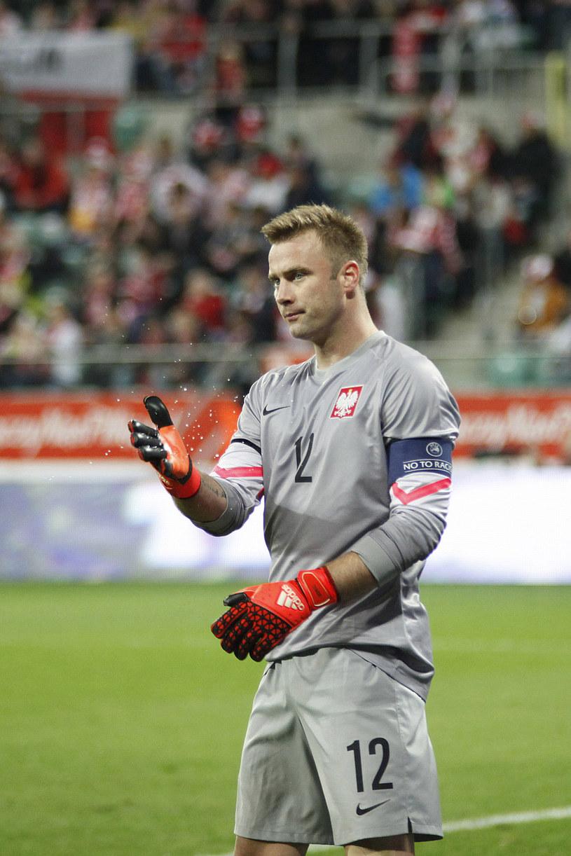 Artur Boruc jest bramkarzem polskiej reprezentacji /Telus /AKPA