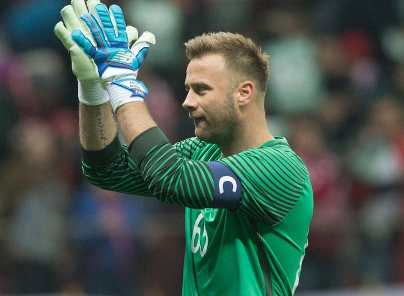 Artur Boruc po swoim ostatnim meczu w reprezentacji Polski /Konrad Paprocki /Reporter