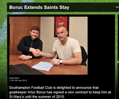 Artur Boruc przedłużył kontrakt z Southampton FC