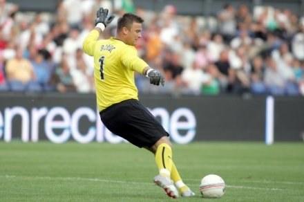 Artur Boruc puścił jednego gola w meczu z Hearts /fot. Dariusz Hermiesz /Agencja Przegląd Sportowy