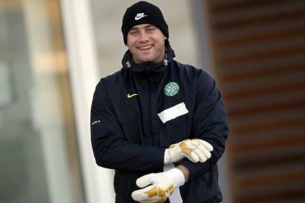 Artur Boruc twierdzi, że znów jest szczęśliwy. /AFP