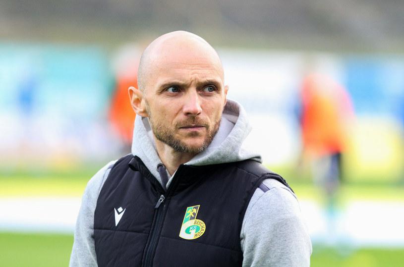 Artur Derbin, trener GKS-u Bełchatów /Artur Szczepański /East News