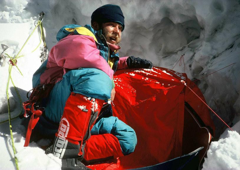 Artur Hajzer, znany również jako Słoń, zginął 7 lipca 2013 roku podczas wyprawy na Gaszerbrum I /Katarzyna Zaremba SE /East News