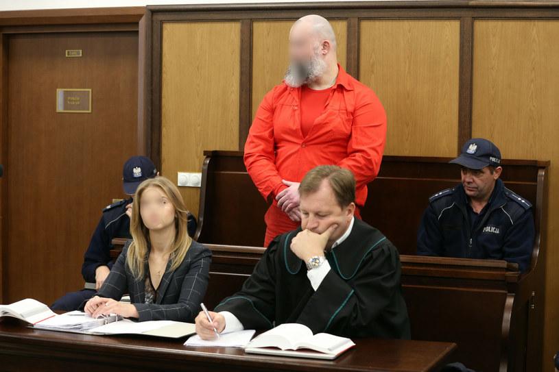 Artur K. w sądzie /TOMASZ RADZIK/AGENCJA SE/East News /East News