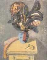 Artur Nacht-Samborski, Czarny kwiat, ok. 1953 /Encyklopedia Internautica