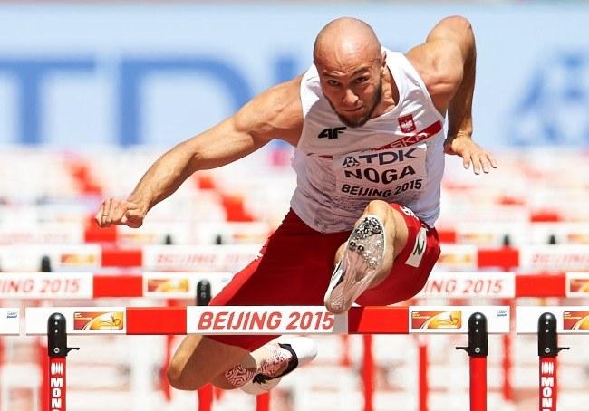 Artur Noga podczas mistrzostw świata w Pekinie /Adam Warżawa /PAP