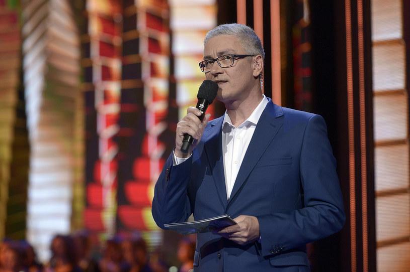 Artur Orzech na festiwalu w Opolu 2016 /AKPA