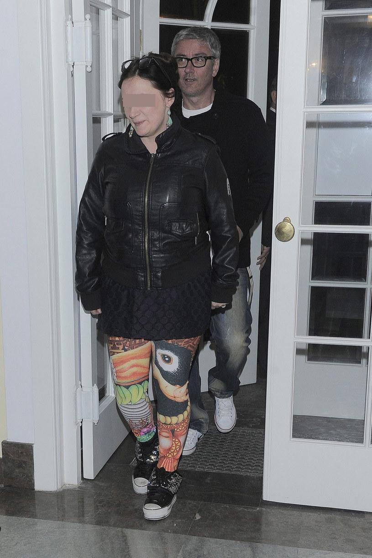 Artur Orzech z żoną /Tricolors /East News