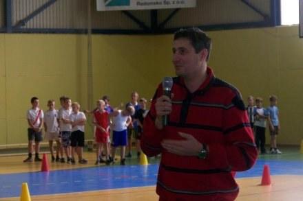 Artur Partyka zachęcał wszystkich do uprawiania sportu/fot. J. Kucharski /Gazeta Radomszczańska