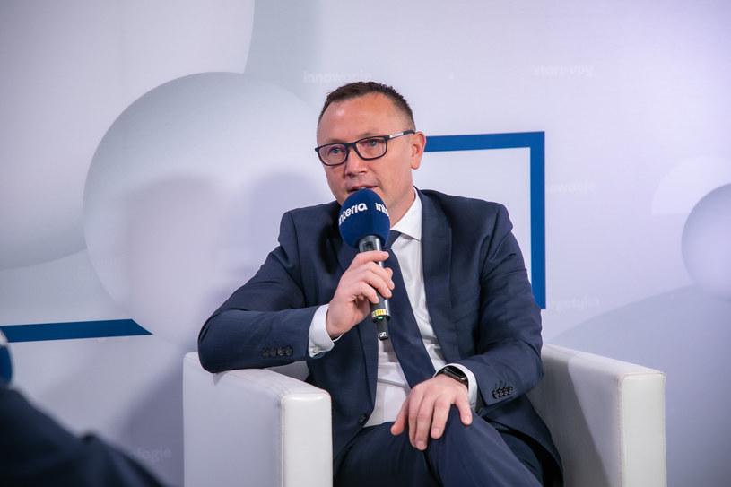 Artur Popko, prezes spółki Budimex. /Fot. Ireneusz Rek /INTERIA.PL