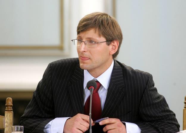 Artur Radziwiłł, wiceminister finansów i pełnomocnik rządu ds. euro. Fot. Maciej Macierzyński /Reporter
