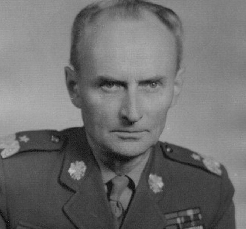 Artur Ritter na zdjęciu z lat 60. już jako generał Artur Jastrzębski /domena publiczna