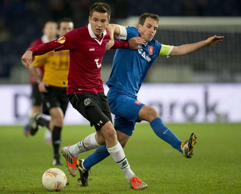 Artur Sobiech, piłkarz Hannoveru 96 /AFP