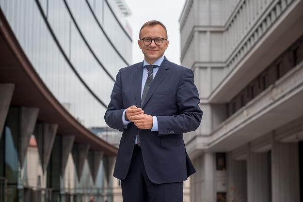 Artur Soboń, wiceminister inwestycji i rozwoju. Fot. Marek Wiśniewski /FORUM