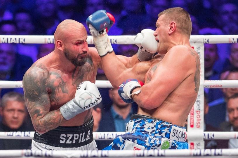 Artur Szpilka pokonał Mariusza Wacha na punkty /fot. Andrzej Iwanczuk/REPORTER /East News