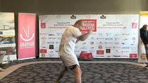 Artur Szpilka w akcji przed walką. Wideo
