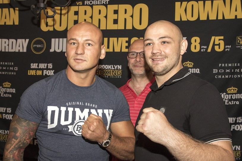 Artur Szpilka (z lewej) i Adam Kownacki /fot. Wojciech Kubik /East News