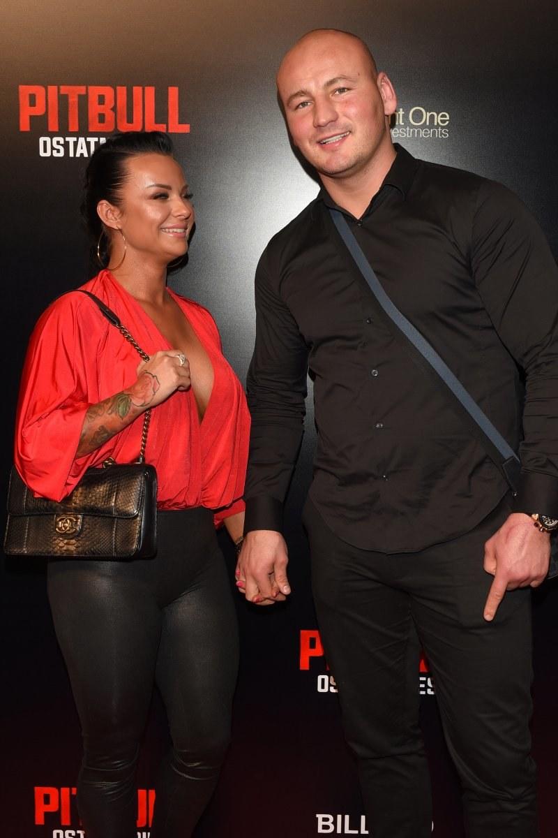 Artur Szpilka z żoną /Andras Szilagyi /MWMedia