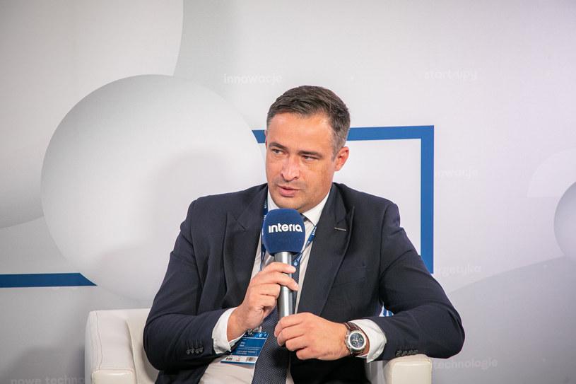 Artur Wasil, prezes Bogdanki. /Fot. Ireneusz Rek /INTERIA.PL