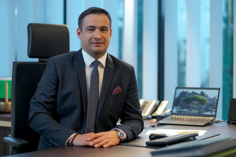 Artur Wasil, prezes LW Bogdanka /materiały prasowe