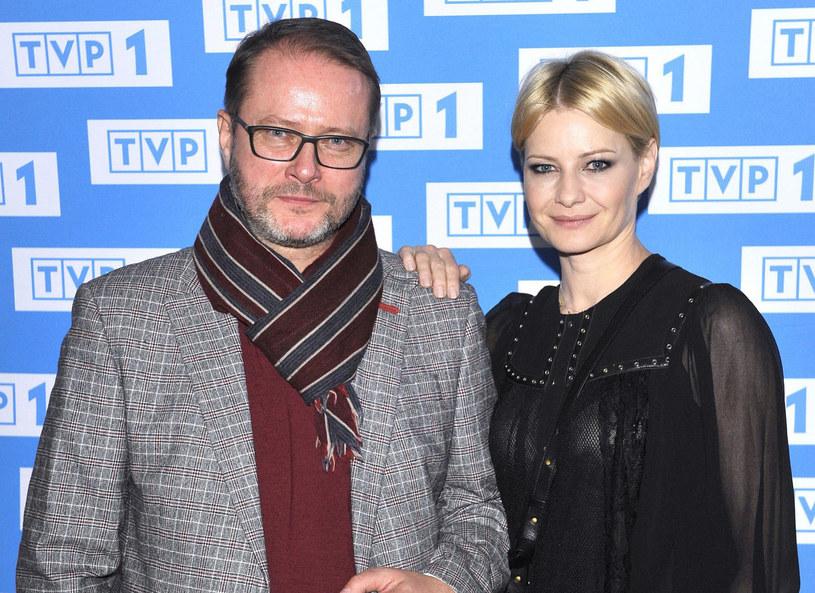 Artur Żmijewski i Małgorzata Kożuchowska /Wlodarski/REPORTER /East News