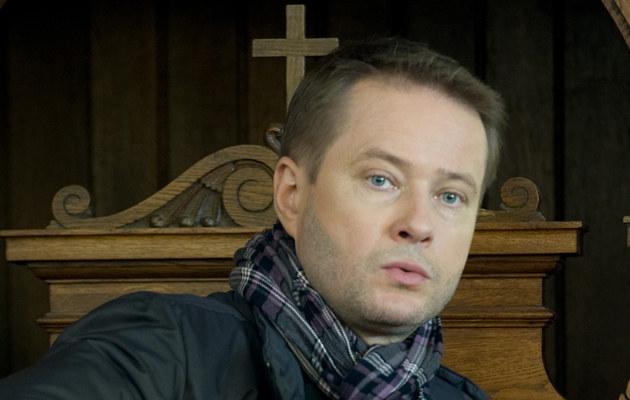 Artur Żmijewski przeżywa rozłąkę z córką /Jarosław Antoniak /MWMedia